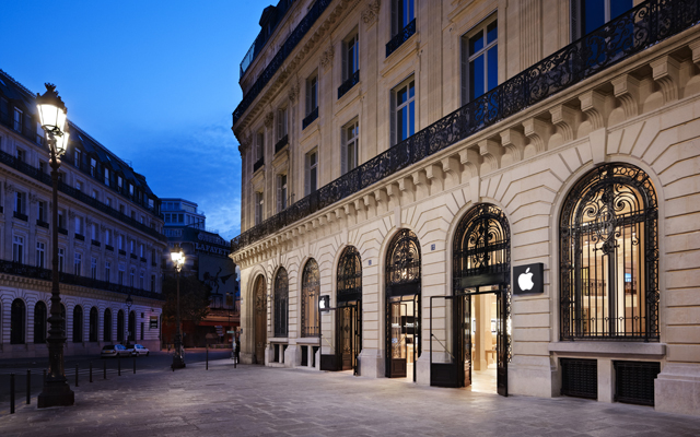 Apple Concept Store Paris Opera Apple Store